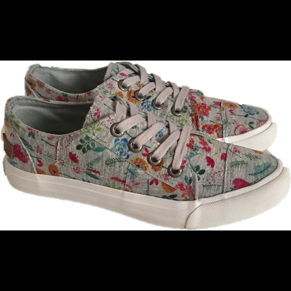 308069c702 Blowfish Malibu Shoes - Blowfish Malibu Colorful Floral Print Sneakers